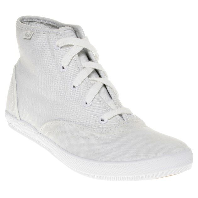 Cheap Womens White Keds Chukka Trainers at Soletrader Outlet  210015185