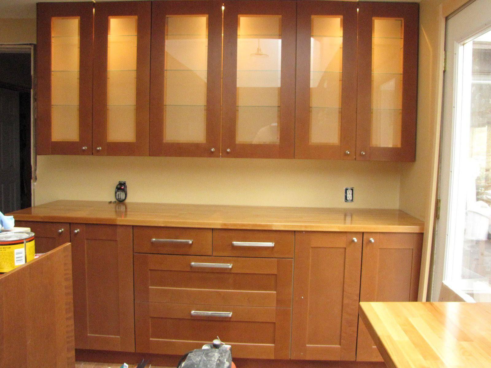 76 Phantasie Küchenschränke Mit Glas Einsätzen