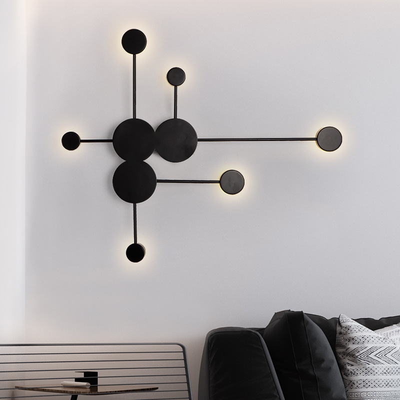 Led Wandleuchte Stilvoll Ring Design Fur Schlafzimmer Wandleuchte Wohnzimmer Wohnzimmer Dekor Modern Wandlampe