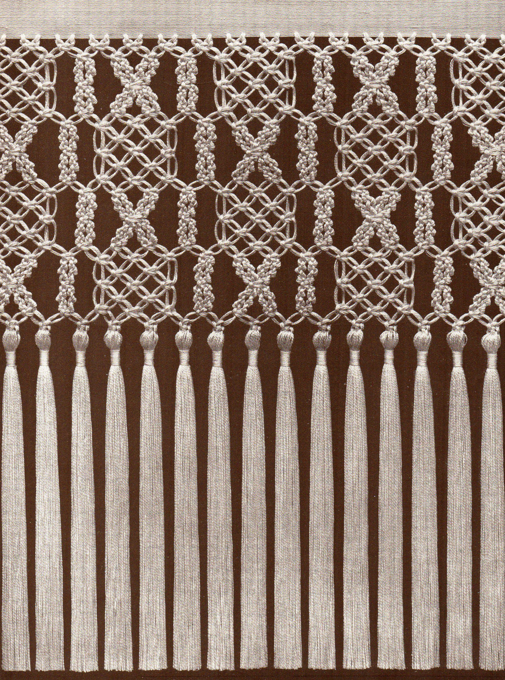pin von alisa tischler auf makrame und wand deko pinterest knoten w nde und handarbeiten. Black Bedroom Furniture Sets. Home Design Ideas