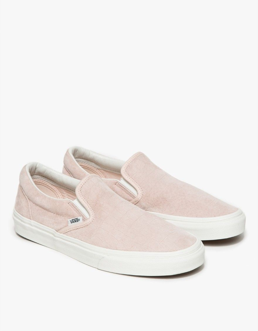 detailing skate shoes entire collection Classic Slip-On Iced Pink Croc in 2019   shoes   Crocs, Pink vans ...
