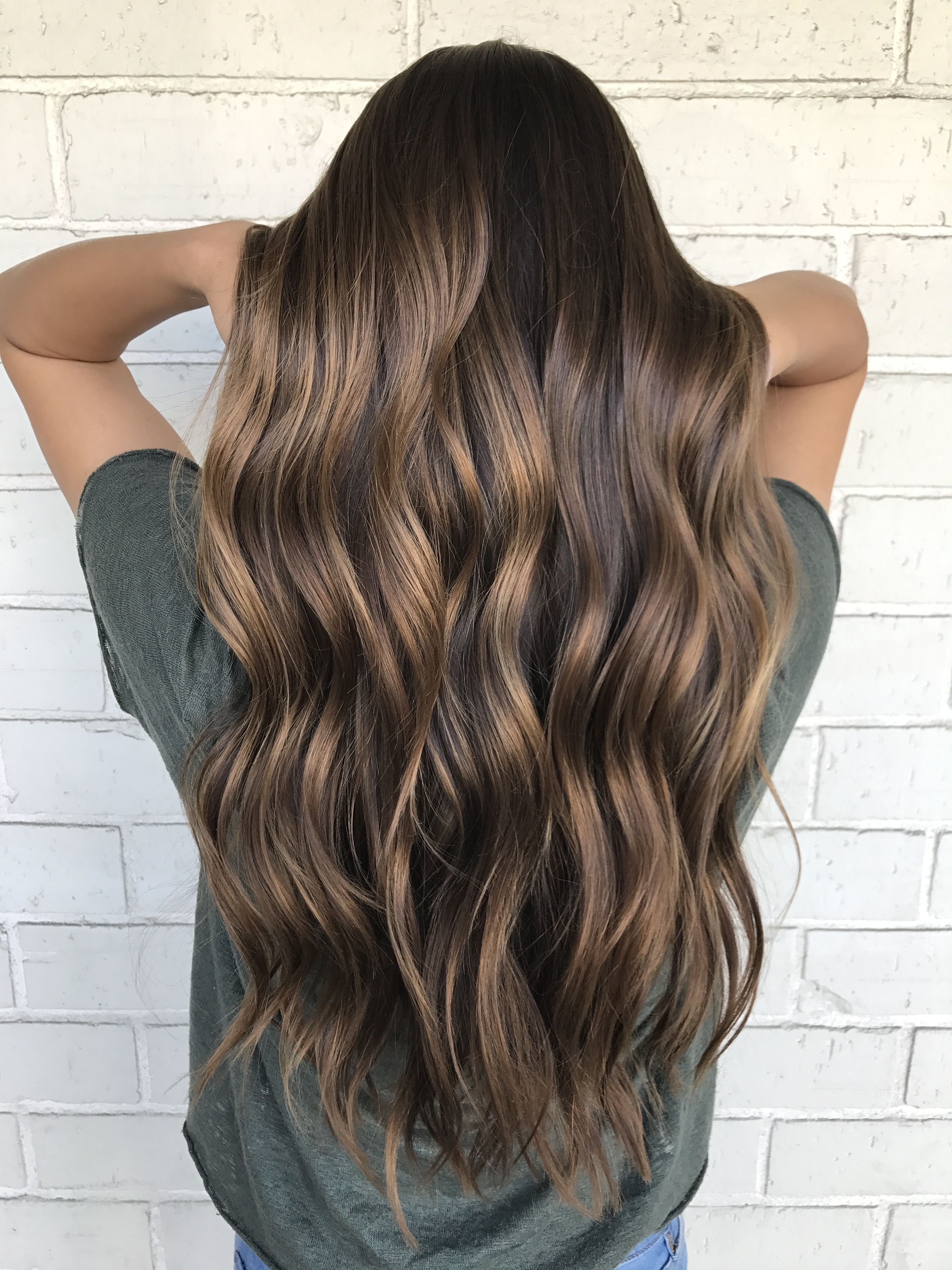 Natural balayage brown hair @nickilynnehair | Hair ...
