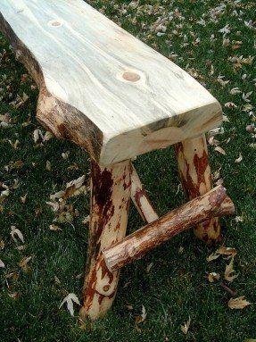 Terrific Rustic Log Bench 4 Work Bench Ideas In 2019 Rustic Beatyapartments Chair Design Images Beatyapartmentscom
