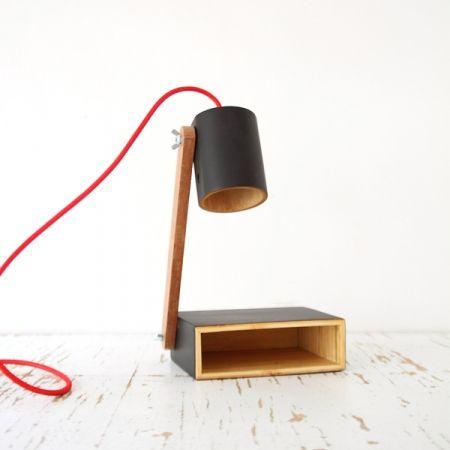 lampe de chevet mikolo noir   idée noël   pinterest   atelier and