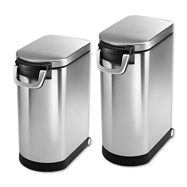 Just found this Pet Food Storage Can - Simplehuman%26%23174%3b Airtight Food Storage Bin -- Orvis on Orvis.com!