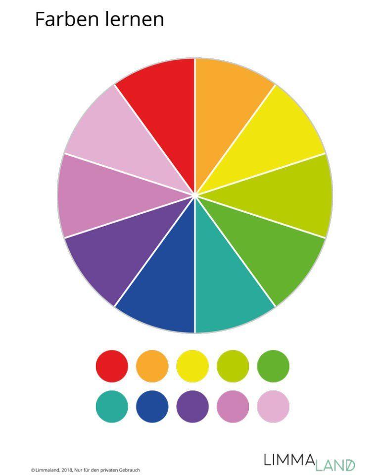 Farben Lernen Und Erkennen Diy Lernspiele Mit Gratis