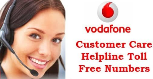 Vodafone Customer Care Toll-Free Numbers - Complaints ...