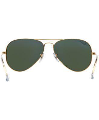 Ray-Ban Sunglasses, RB3025 62 Aviator - Gold