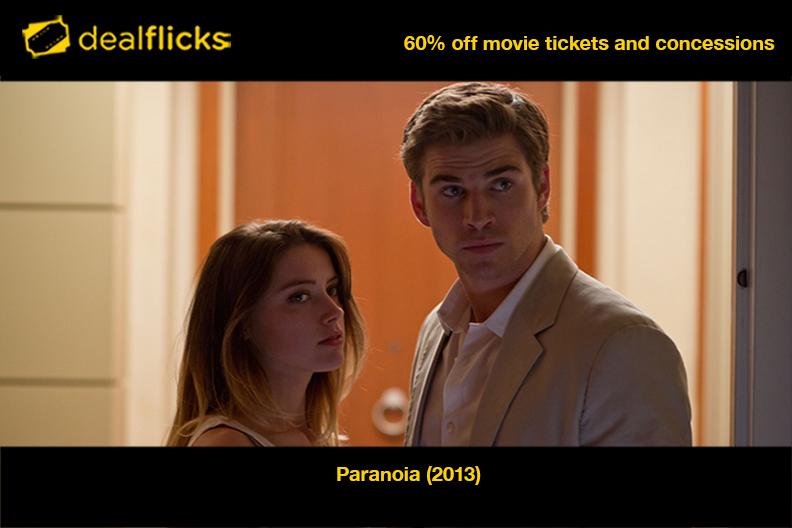 Paranoia Liam Hemsworth Hemsworth Paranoia
