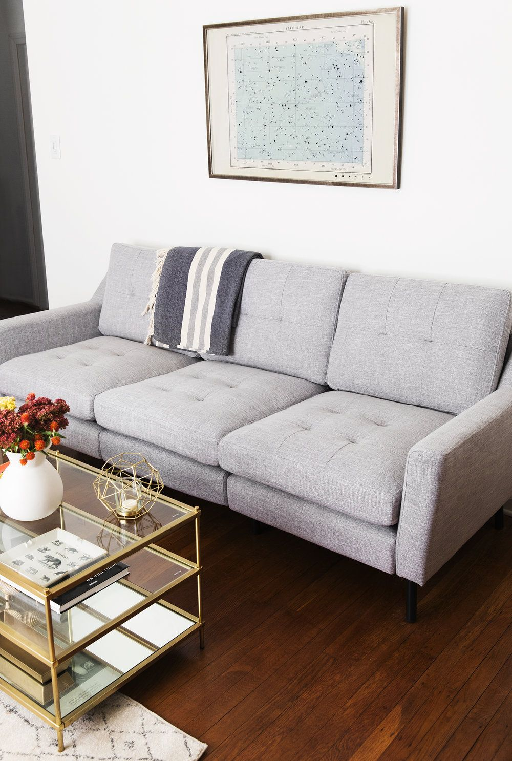 Burrow Couch Review Home Decor Pet Friendly Living Room Simple
