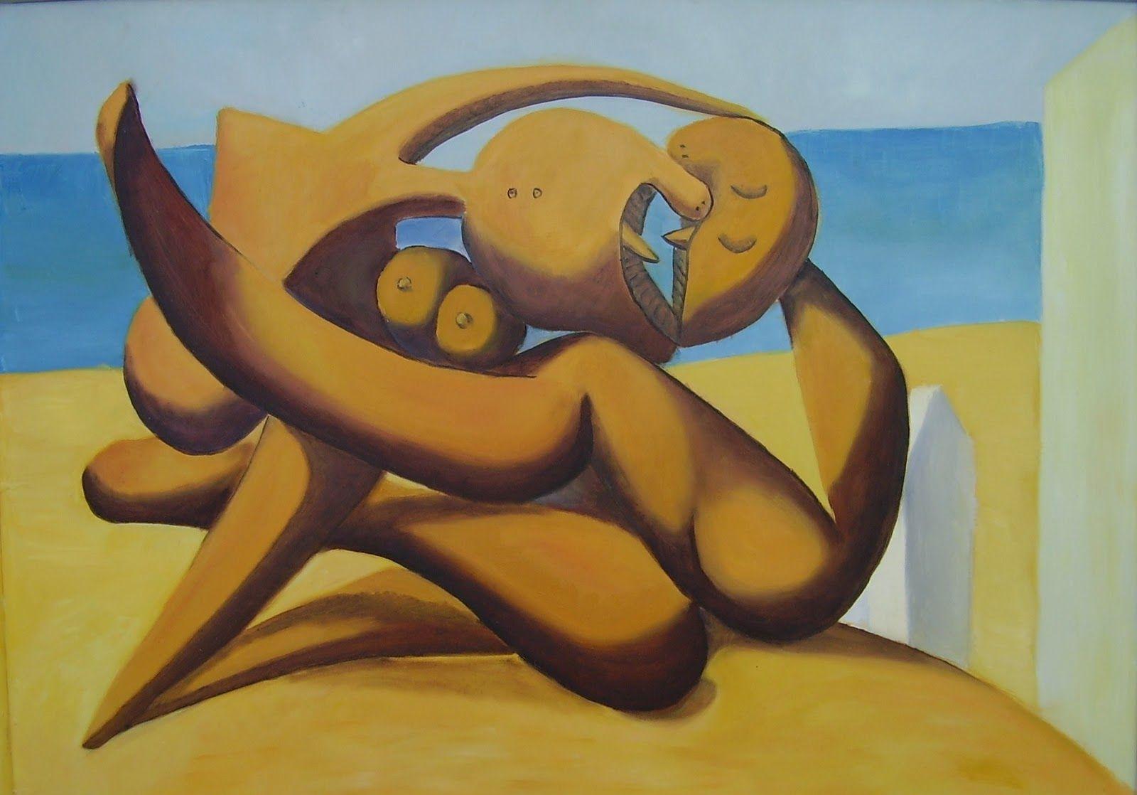 Figuras A La Orilla Del Mar 31 Surrealism Pablo Picasso Pablo Picasso Picasso Arte