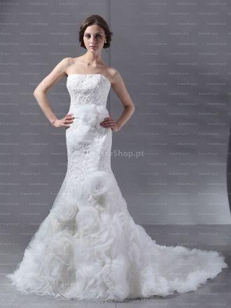 Gabrielle-Vestido de Noiva em tule