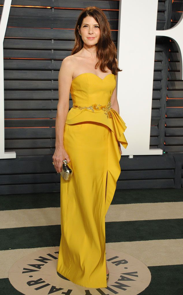 Marisa Tomei from Vanity Fair Oscars Party 2016: What the Stars Wore