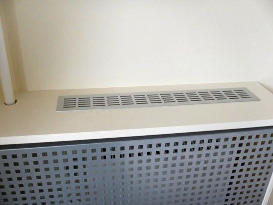 Diy A Radiator Cover From Ikea Antonius Shoe Racks Cache Radiateur Design Cache Radiateur Deco Salon