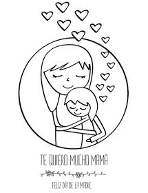 Tarjeta Del Día De La Madre Para Colorear Manualidades Tarjetas Del Día De Las Madres Dibujos Del Día De Las Madres Manualidades Día De Las Madres
