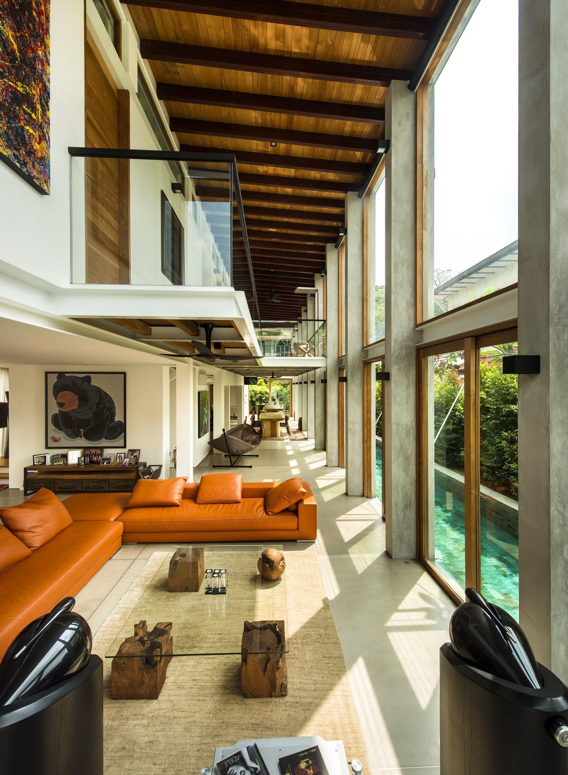 CARMICHAEL ROAD HOUSE by VTxT Visual Text Architects Mi casa