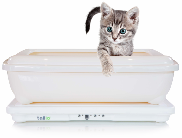 A litter box that monitors the health of your cat. Cat