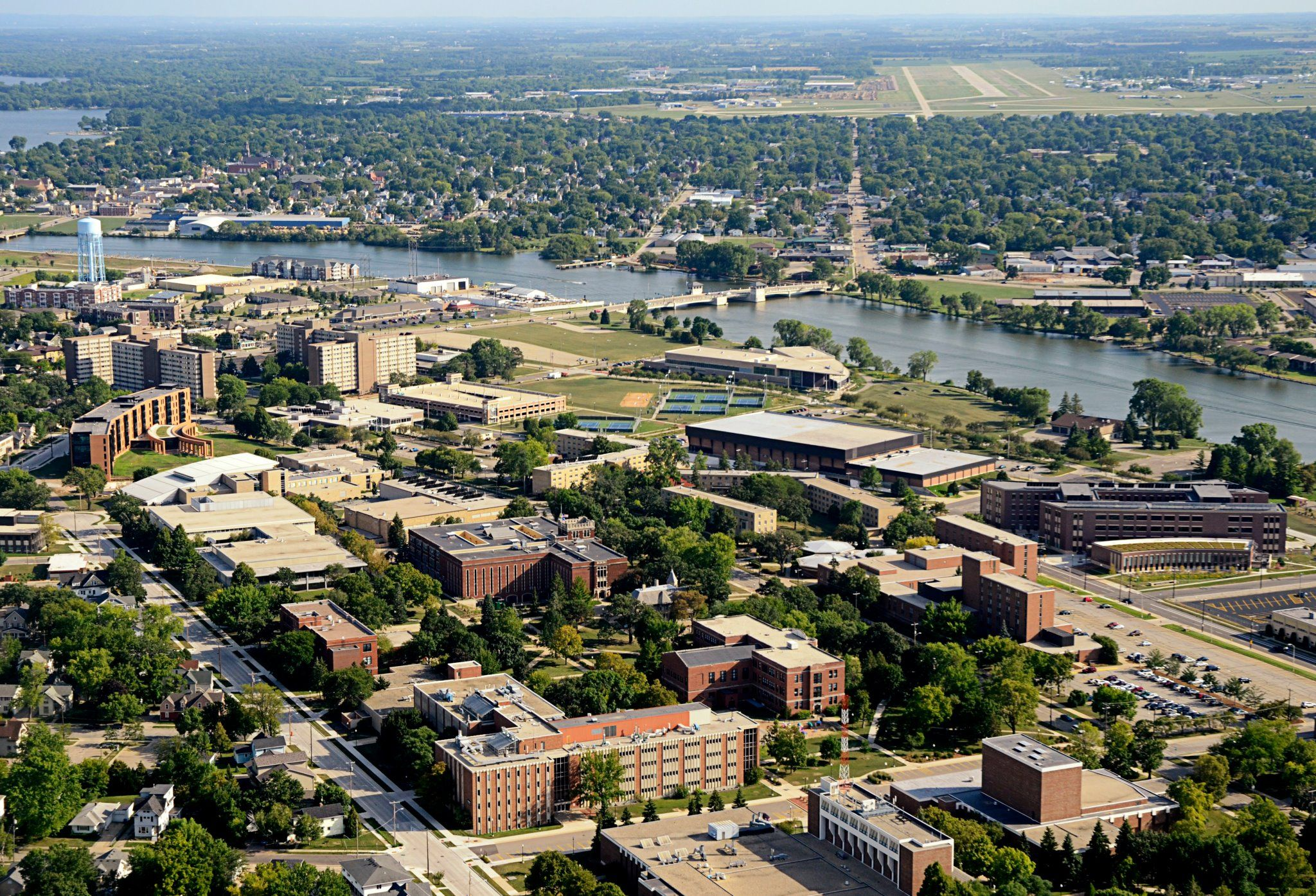 Oshkosh Campus Map.The Uw Oshkosh Campus Has Many Different Places And Spaces To Host A