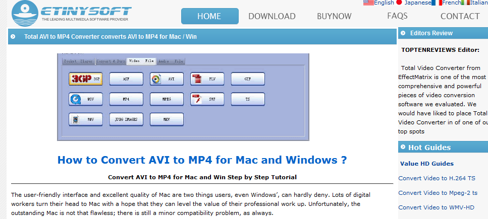 Avi В Mp4 For Mac Os