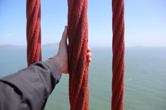 San Francisco, Californië: канаты моста