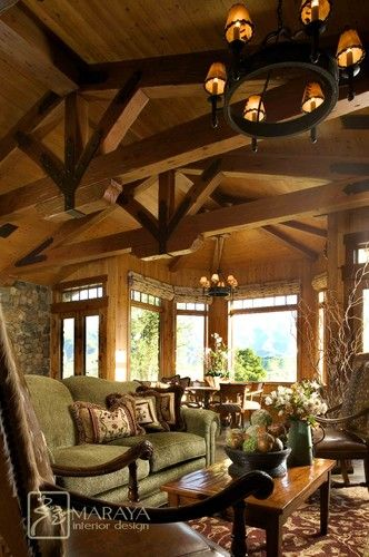 Mountain Ranch Living Room  Traditional  Living Room  Santa New Interior Design Living Room Traditional Decorating Inspiration