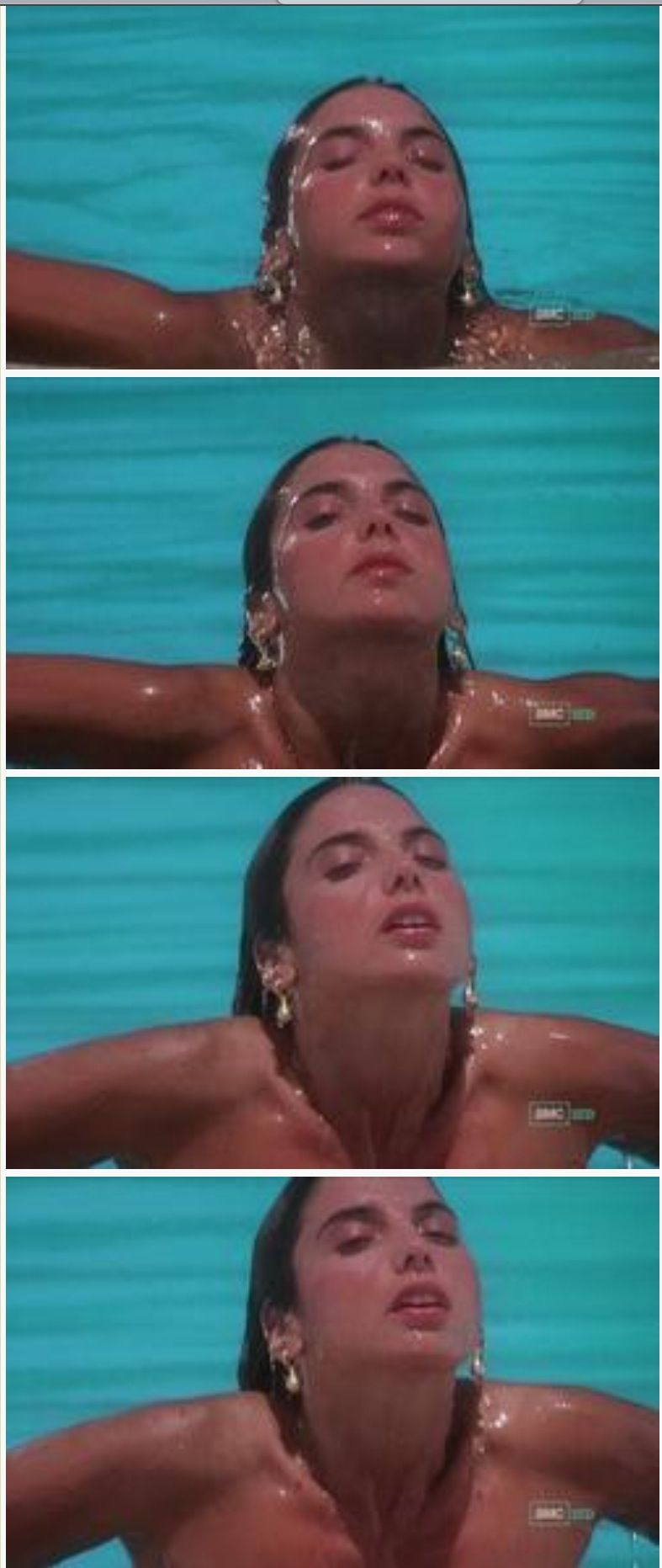 Nicolette scorsese as mary from national lampoon 39 s - Swimming pool girl christmas vacation ...