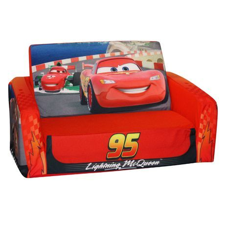 Disney Cars Sofa Canada Keegan Marshmallow Flip Open 2 Available From Walmart Shop And Save Toys At Everyday Low Prices Ca