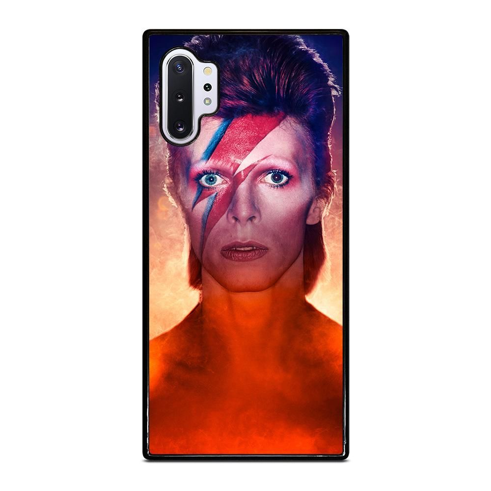 David bowie face samsung galaxy note 10 plus case cover