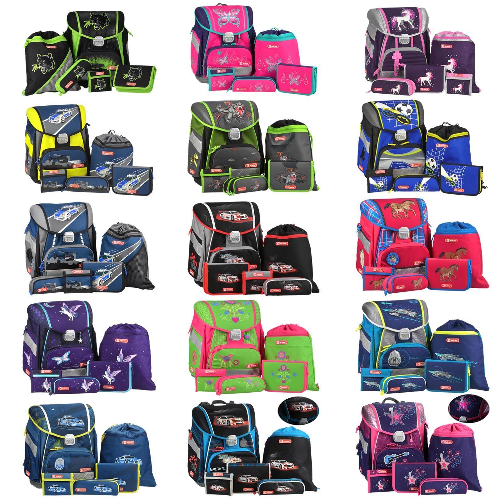 Schulranzen Set Step By Step 5teilig Rucksack Ranzen 1 Klasse Ab Lager Sofort Schulranzen Schulranzen Set Schule