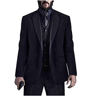 Mens John Wick Chapter 3 Parabellum Keanu Reeves Black Suit At Amazon Men S Clothing Store Tuxedo For Men Black Suits Suits