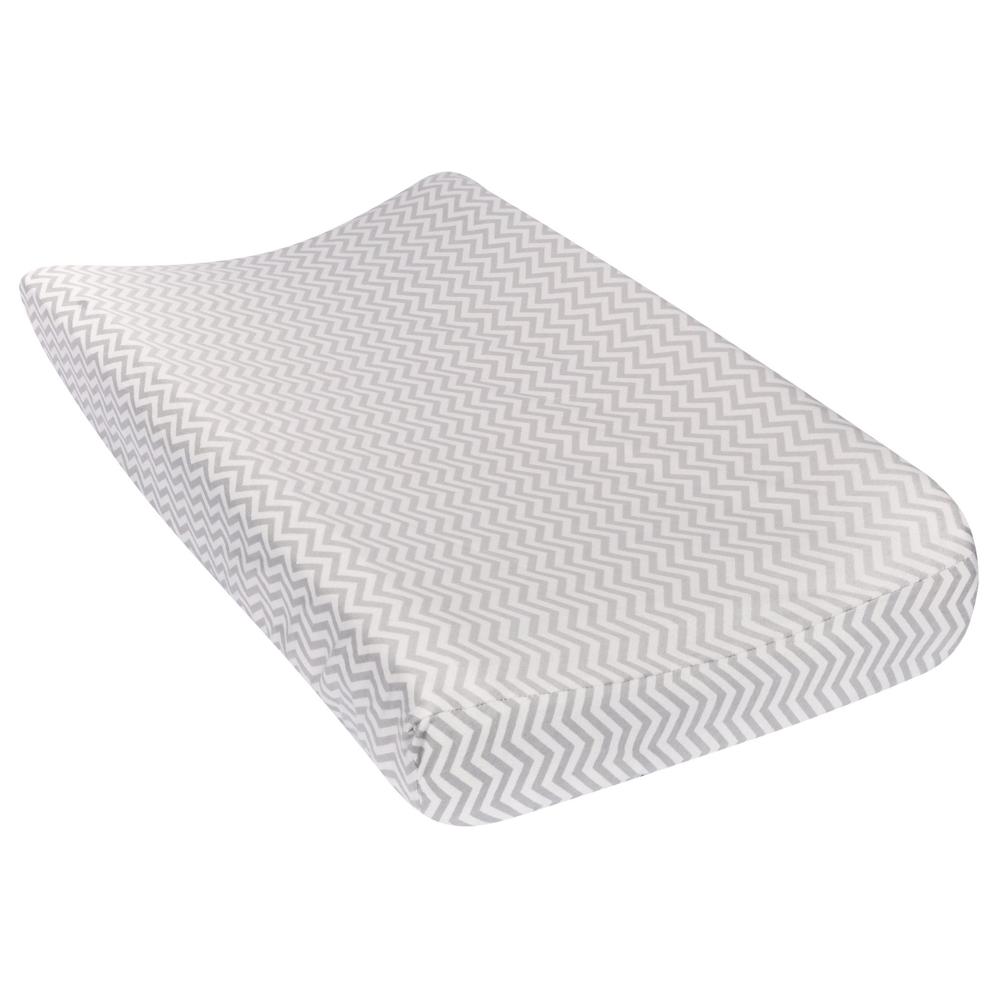 Chevron Deluxe Flannel Changing Pad Cover