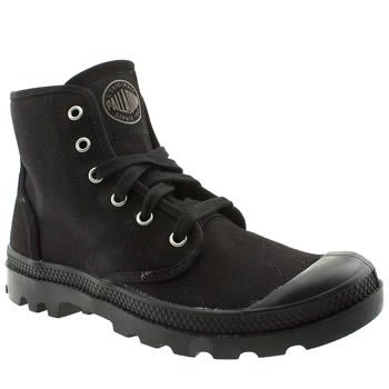 huge selection of 12922 80bae Palladium Black Pampa Hi Mens Trainers Palladium footwear is back with more  followers than the French