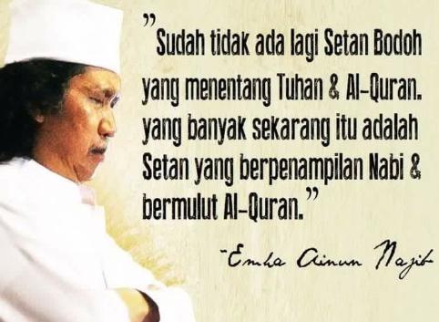 Kata Kata Bijak Islami Cak Nun Ragam Muslim Kata Kata Indah Kata Kata Motivasi Kutipan Bijak