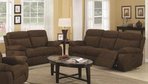 $1605.76. Sofas And Sets U003eSofa Sets U003eFabric And Microfiber Sofa Sets. 2pc  Power Motion Sofa Set Dark Brown ...