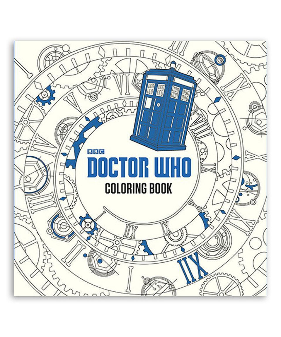 This Doctor Who Coloring Book by Doctor Who is perfect! #zulilyfinds ...