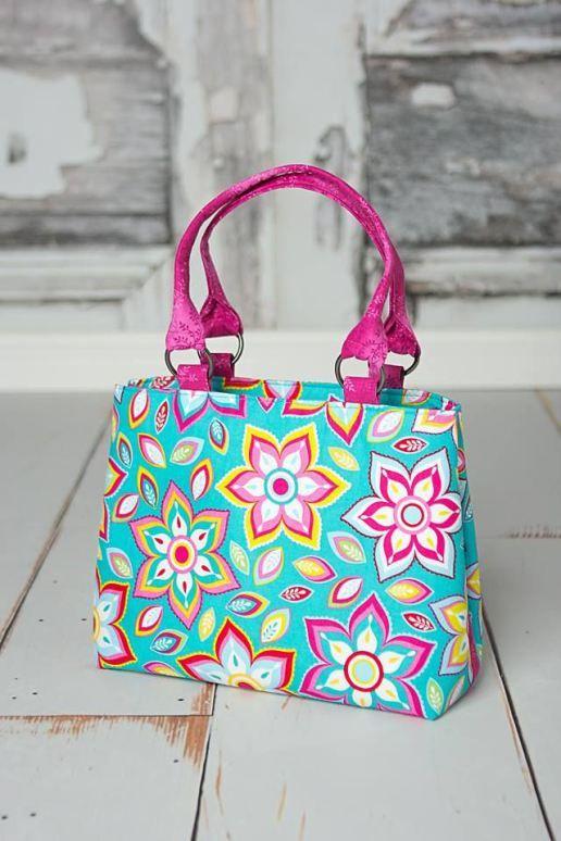 Melody Expandable Tote Bag - PDF Sewing Pattern | Bag it! | Pinterest