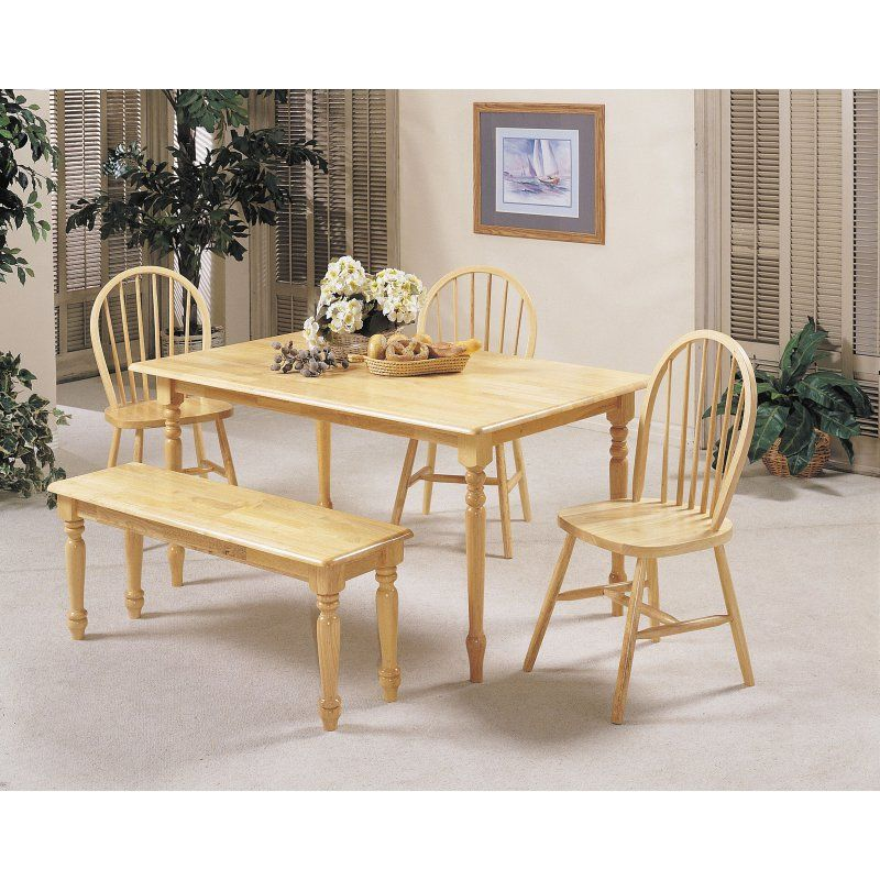 Acme Furniture Farmhouse Dining Table - Natural - 02247N