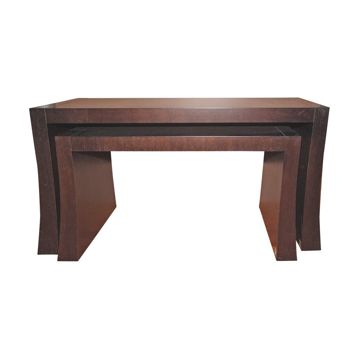 low console table. Armani Casa Rialto Tall And Low Bridge Console Table N