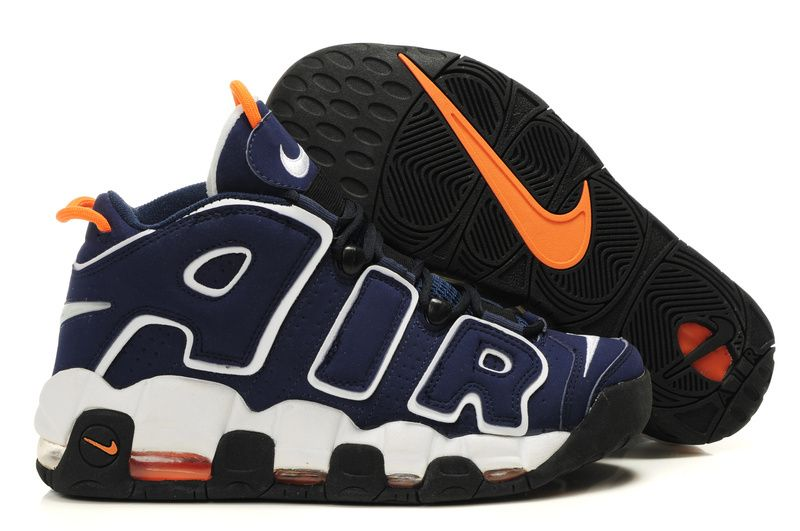 check out 9e357 9f39d Nike Air More Uptempo Scottie Pippen Shoes Deep Blue White