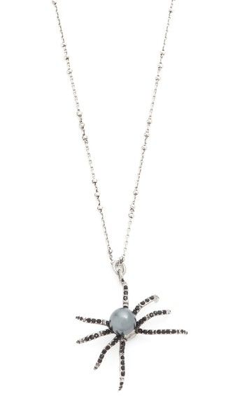 Spider pendant necklace aloadofball Image collections