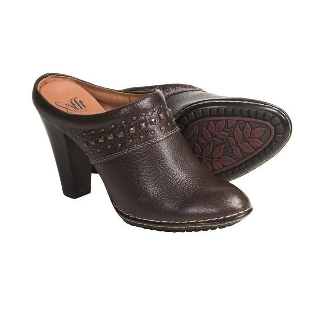 dressy clogs for women | Sofft Soleil Clogs - Studded Leather (For Women) -