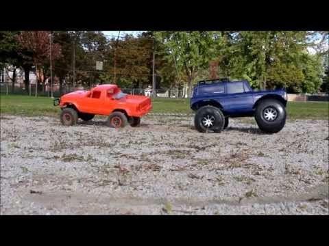 Rc Mc Jeep Cherokee Vs Ford Bronco Truck Challenge Jeep Cherokee Ford Bronco Bronco Truck
