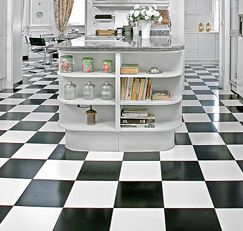 Mix Cup Of Distilled White Vinegar Into Gallon Of Water And - Shiny lino flooring