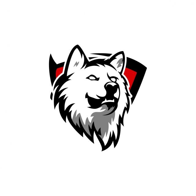 Esports Gaming Logo Badge Wolf Team Vector And Png Wolf Team Logo Design Art Team Logo Design