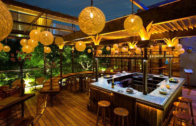 Las Mejores Terrazas De La Cdmx Patio De Restaurante