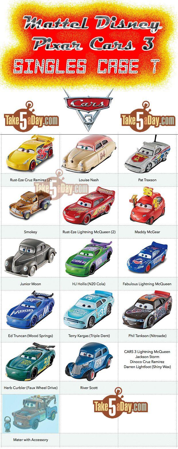 Mattel Disney Pixar Cars 3 Singles Case T More Wave 2 Is Coming