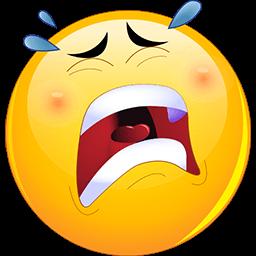 In Tears Emoticon Crying Emoji Funny Emoticons Emoji Pictures