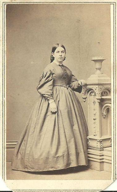 Photograph of a Woman, circa 1860-1870