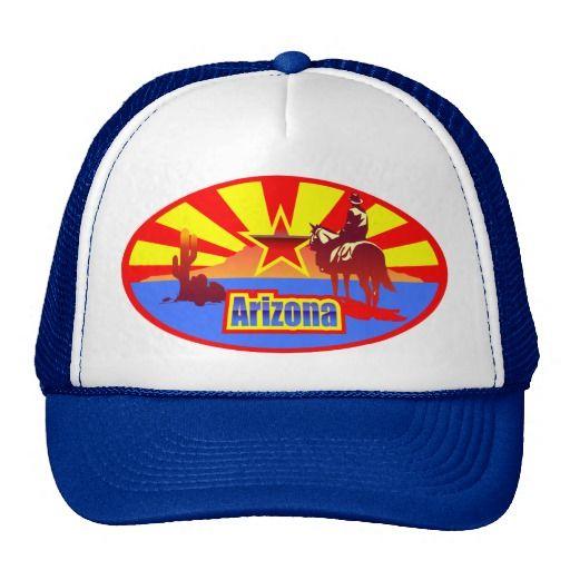 Artistic Arizona flag
