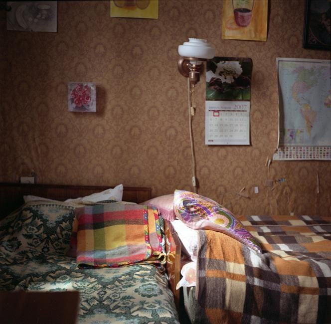 The Apartment People: A Room In A Communal Apartment. Cramped Space Is One Of